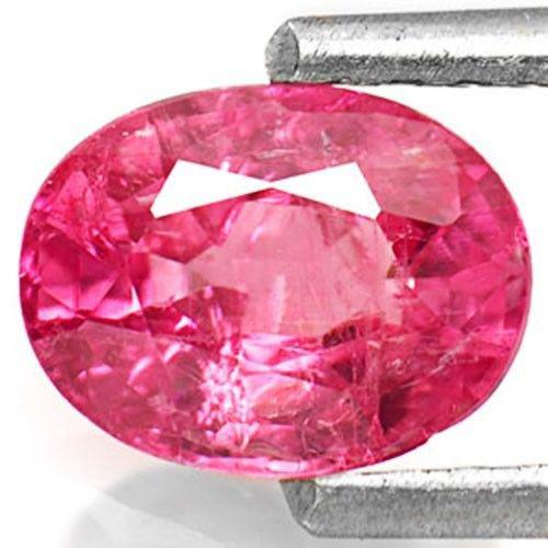 IGI Certified Burma Ruby, 1.03 Carats, Vivid Pinkish Red Oval