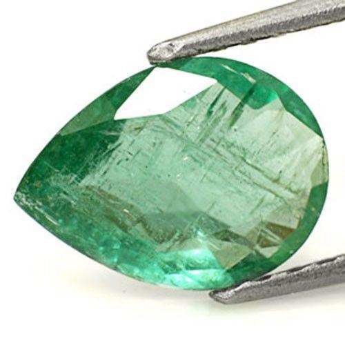 Zambia Emerald, 1.84 Carats, Green Pear