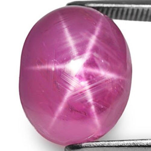 Burma Star Ruby, 13.66 Carats, Deep Pink Oval