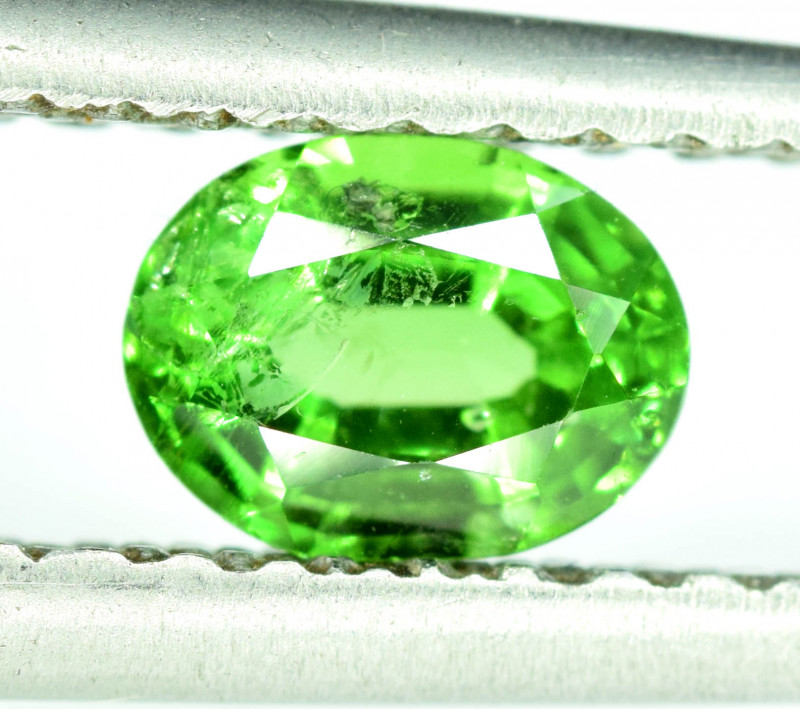 0.75 CT AAA Quality Natural Tsavorite Garnet Gemstone