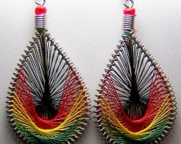 Hand Crafted Peruvian Dream Catcher Earrings