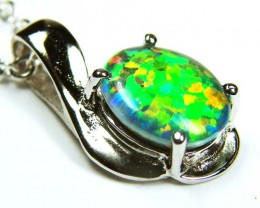 FASHION OPAL MAN MADE  PENDANT  MYJA 936