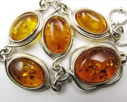 BALTIC AMBER  NECKLACE 44 CM LENGTH   MYG 820