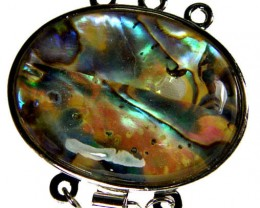ABALONE SHELL PENDANT/BRACELET/BEAD 52.5 CTS [AS57]