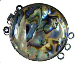 ABALONE SHELL PENDANT/BRACELET/BEAD 65.8 CTS [AS06]