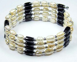 PEARL MAGNETIC  BRACELET  3FT OR 90CM LENGTH  AJA 53