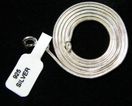 QUALITY SILVER SNAKE CHAIN 56CM CMT6