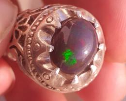 Natural Opal Man RIng.