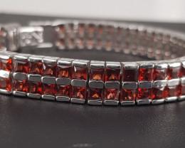 Natural Beautiful Garnet Bracelet.