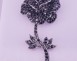 Natural Sapphire Brooche