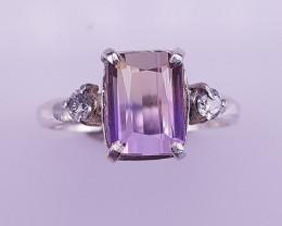 Natural Ametrine Ring