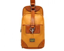 COW LEATHER CROSSBODY DESIGNED BAG& BACKPACK #CHEST