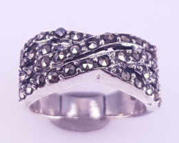 NAtural MArcasite Ring