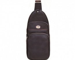 COW LEATHER CROSSBODY BAG& BACKPACK #CHOCOLATE