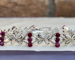 Natural Ruby Bracelet TCW 5 approx