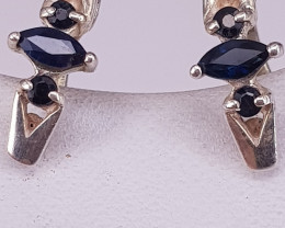Natural Sapphire Beautiful Earring.