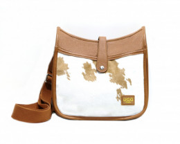 ORIGINAL CALF SHOULDER BAG # chest