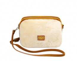 SHEEPSKIN SHOULDER BAG #2 -1