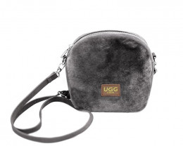 SHEEPSKIN SHOULDER BAG #1-3
