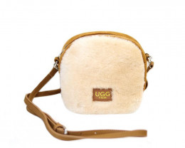 SHEEPSKIN SHOULDER BAG #1-2