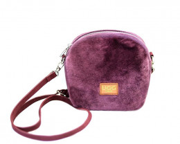 SHEEPSKIN SHOULDER BAG #1