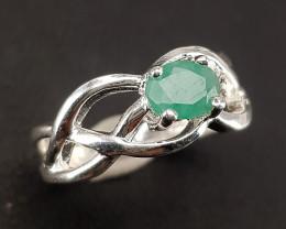 Natural Emereld Ring