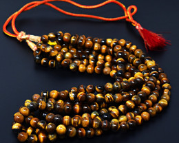 Golden Tiger Eye Beads Necklace