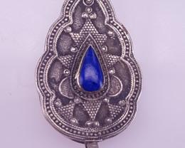 Antique Style Lipase Lazuli Pendant