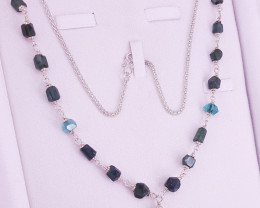 Natural Tourmaline Necklace