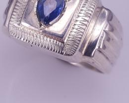 Natural Sapphire Man Ring.
