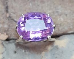 Hand made Natural Amethyst Ring