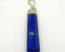 Natural Blue Lapis Lazuli Pendant