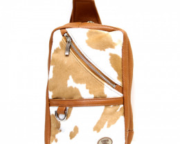 CALF LEATHER CROSSBODY BAG& BACKPACK #CHEST