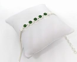 Chrome Diopside Bracelet 2.50tcw.