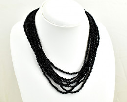 Genuine 290.00 Cts Spinel Beads  Necklace