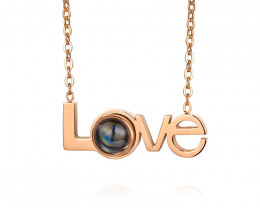Delicate Love  Copper plated Titanium Pendant code CCC 1381