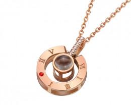 Delicate Copper plated Titanium Pendant code CCC 1387