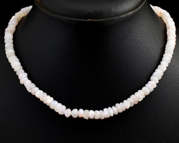 Moonstone  Beads Necklace