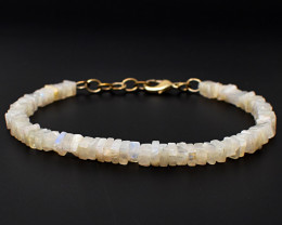 Moonstone Beads Bracelet