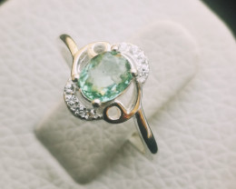 9.40ct Natural Tourmaline In 925 Sterling Silver.