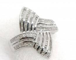 Natural Diamond Ring 1.00tcw.