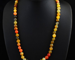 Multicolor Onyx Beads Necklace