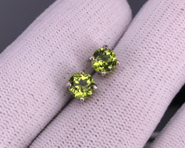 PERIDOT 925 Silver Set by DANI Jewellery