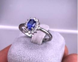 TANZANITE 925 Silver Ring by DANI Jewellery