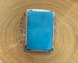 Natural Turquoise Ring.