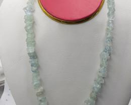 Natural Aquamarine Necklace