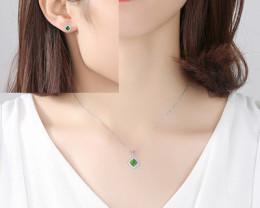 Silver 925 Quailty Classy Fashion Jewelry Set  code CCC 1638