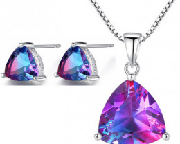 Silver 925 Quailty Classy Fashion Jewelry Set  code CCC 1640