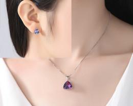 Silver 925 Quailty Classy Fashion Jewelry Set  code CCC 1641