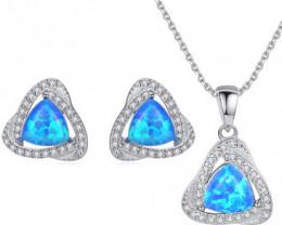 Silver 925 Quailty Classy Fashion Jewelry Set  code CCC 1643